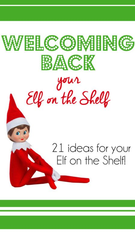photograph about Elf on the Shelf Printable Story called Pleasant back again the Elf upon the Shelf