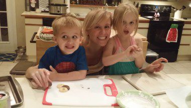 Now I'm actually in pictures with my kids!