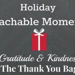 Teachable Moments: Gratitude