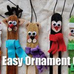 Three Easy Ornament Crafts: Toddler Approved