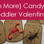 Even More Candy-Free Toddler Valentines