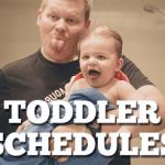 Toddler Schedules: A Dream Come True
