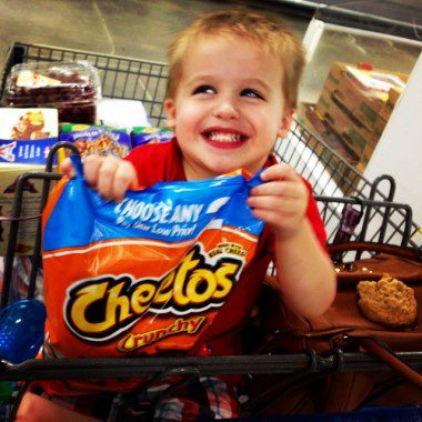 Cheetos because we choose to be real... but not with cheese.