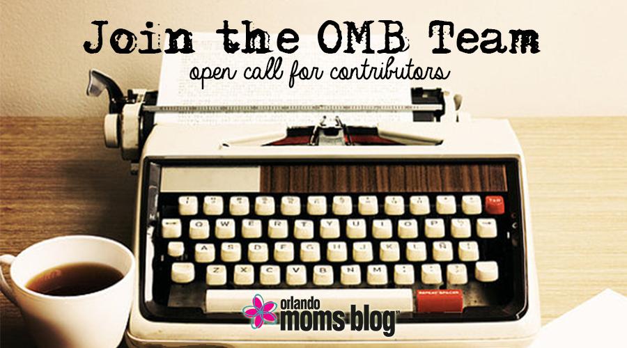 Join the Orlando Moms Blog team