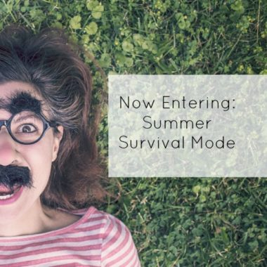 Now Entering Summer Survival Mode - square