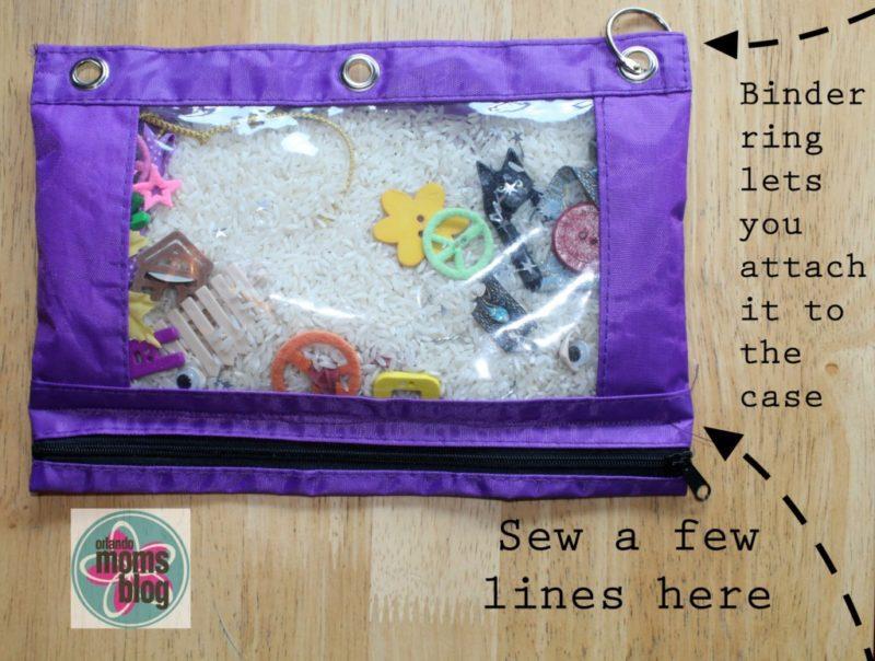 Toddler Travel Kit I Spy Bag Photo