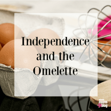 Independence and the Omelette square