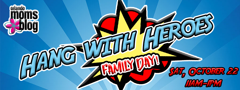 Hang with heroes header
