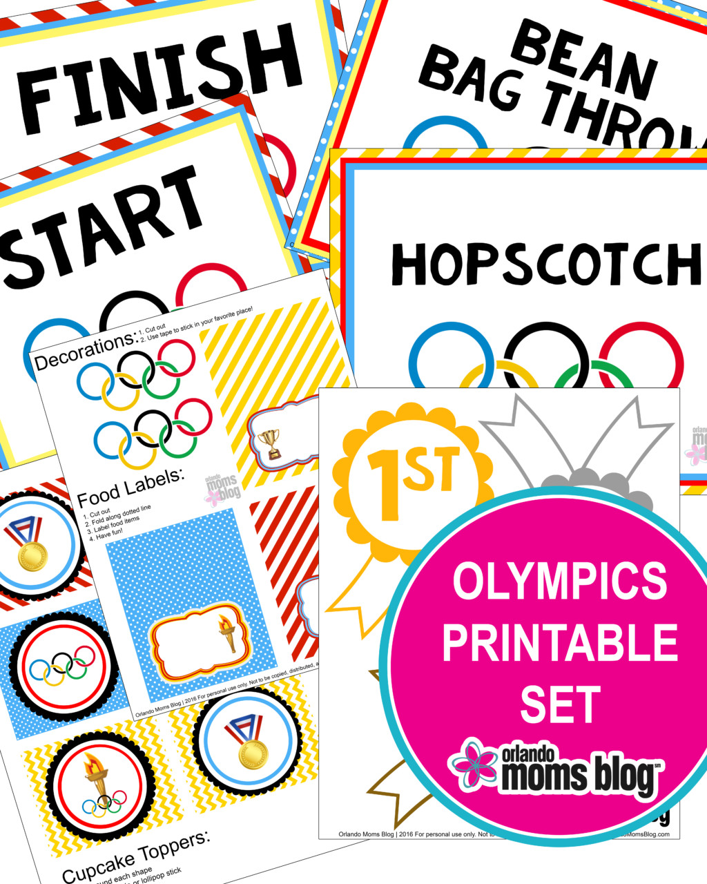 Olympics TITLE Page