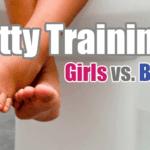 Potty Training: Girls vs. Boys