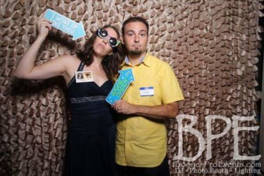 Photo booths are a must. They are literally the only pictures we have from either reunion.