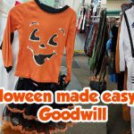 Halloween made easy with Goodwill
