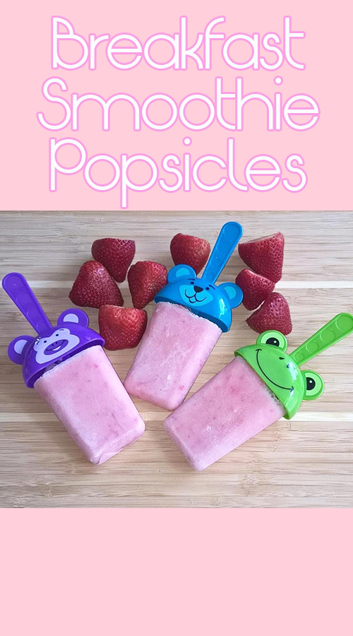 Breakfast Smoothie Popsicles