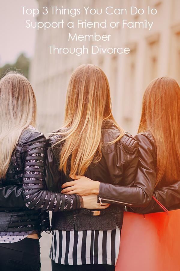 Supporting a friend through divorce