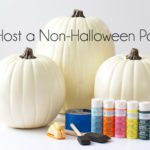 How to Host a Non-Halloween Painting Party