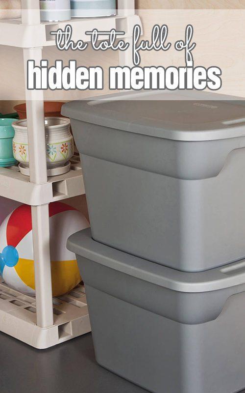 The tote full of hidden memories