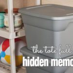 The tote full of hidden memories