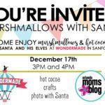 Marshmallows with Santa!