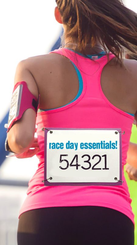 Race Day Essentials