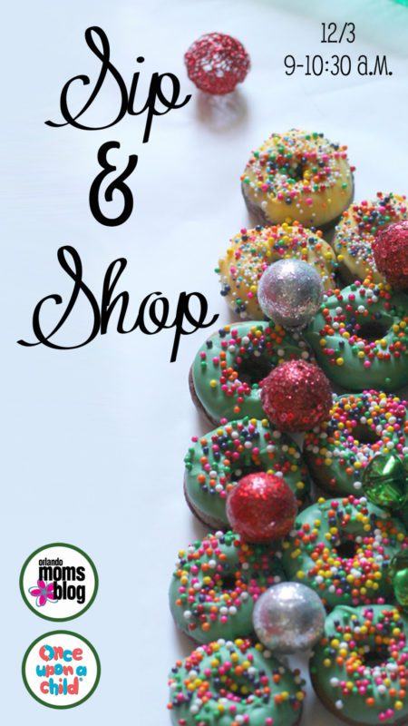 Sip and Shop at Once Upon A Child