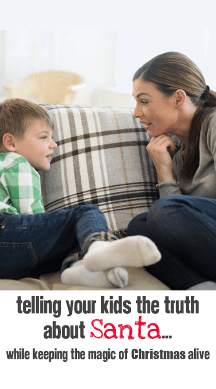 Telling Your Kids the Truth About Santa...yet keeping the magic of Christmas Alive