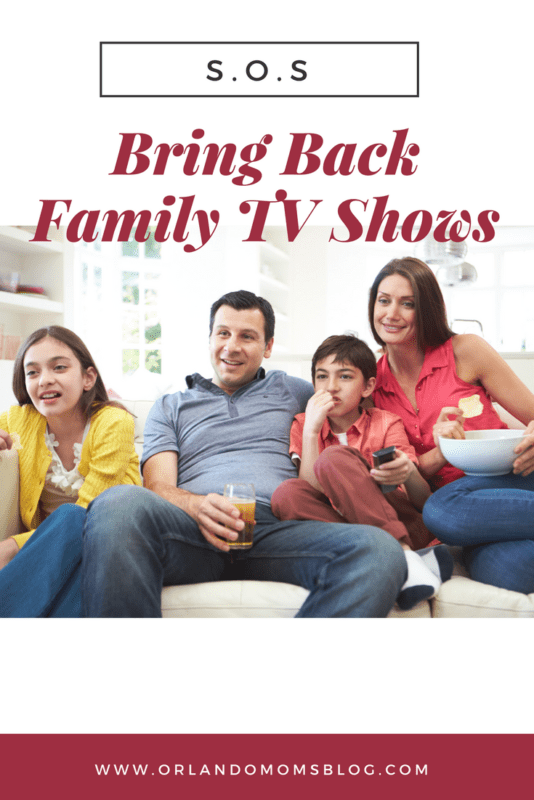 SOS: Bring Back Family TV Shows!