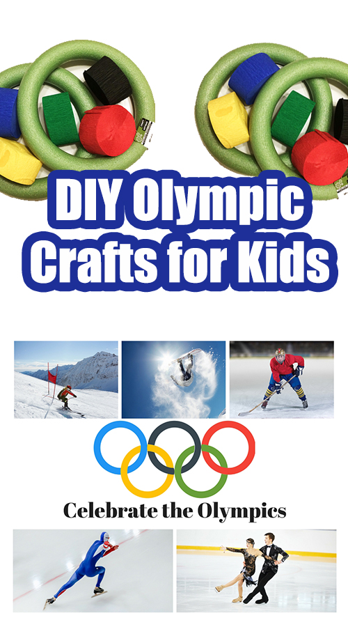 DIY Olympic Crafts for Kids