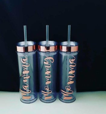 orlando moms blog mother's day gift treasure universe rose gold tumblers