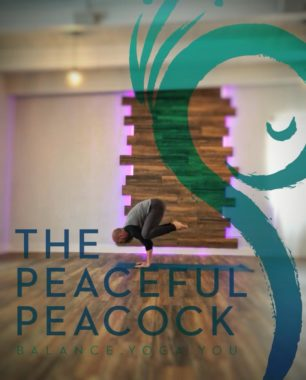 orlando moms blog mother's day gift peaceful peacock yoga