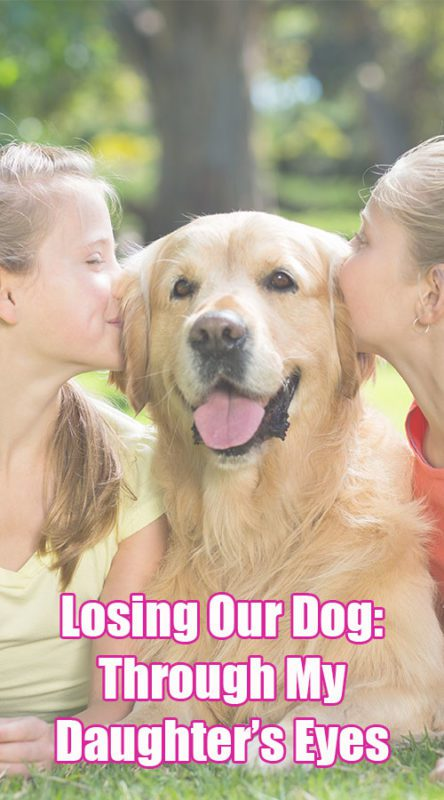 Losing Our Dog: Through My Daughter's Eyes