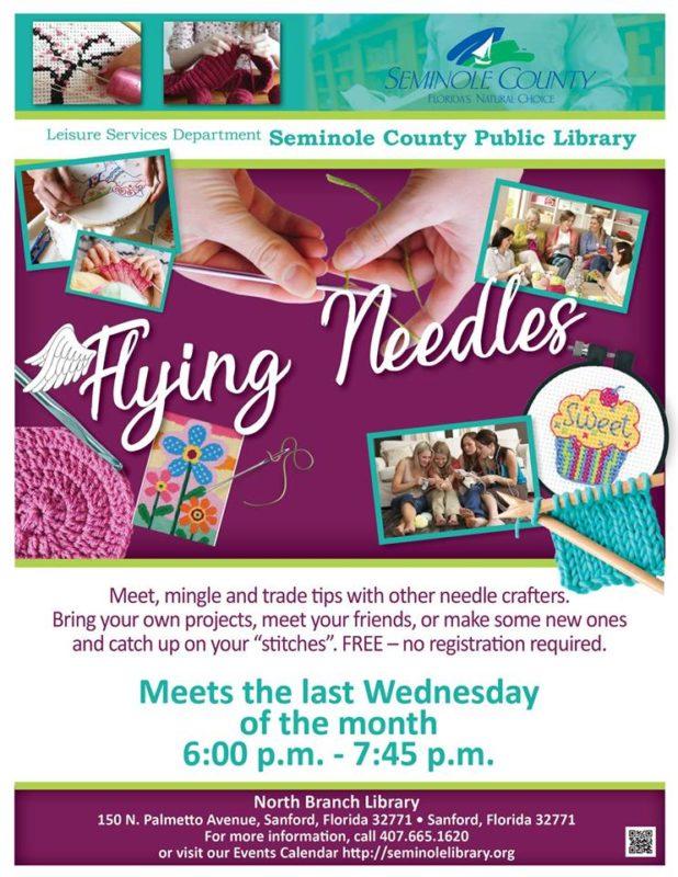 orlando moms blog seminole county library flying needles