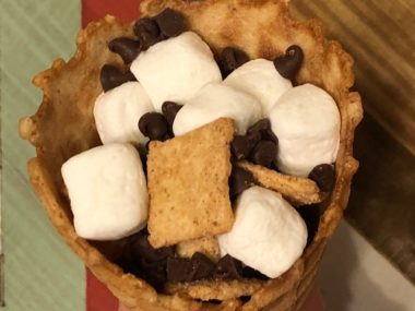 4th of July S'mores Cones