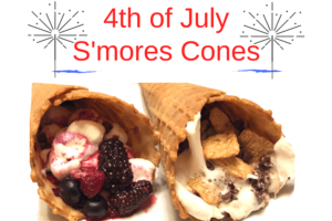 4th-of-July-S'mores-Cones