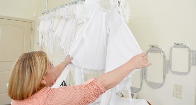 Turning Wedding Dresses Into Angel Gowns For Lost Babies,Average Cost Of Wedding Dress Canada