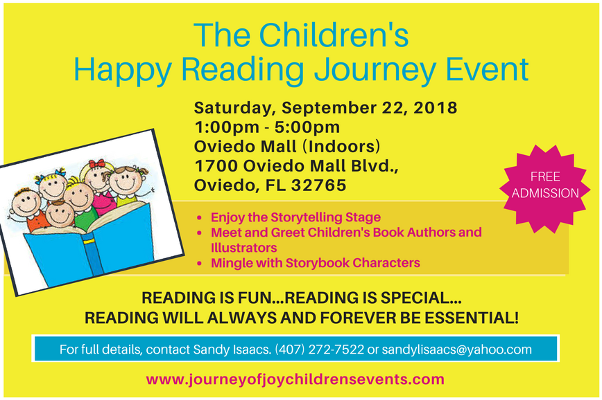 The Children's Happy Reading Journey' 2018 event