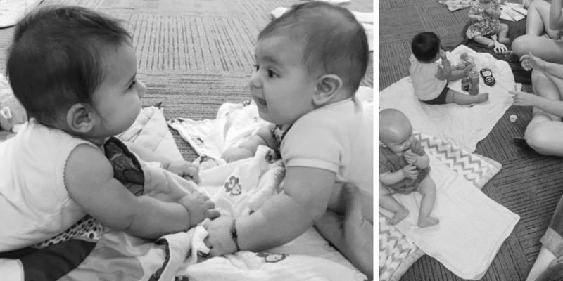 Baby Bunch at Florida Hospital Orlando Moms Blog tummy time