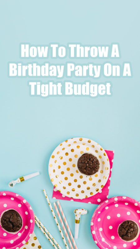 Birthday Party Budget