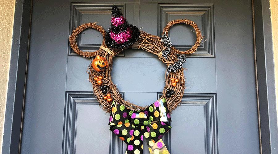 Mickey-Wreath