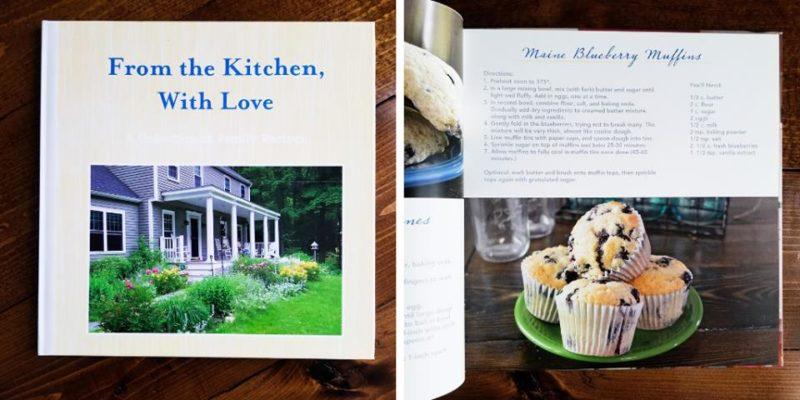Christmas gift idea family cookbook morgan hugoboom