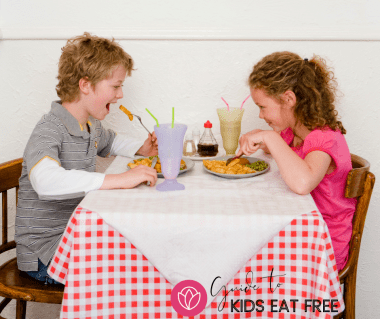 Guide to Kids Eat Free