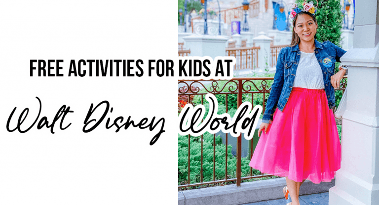 Free Activities for Kids at Walt Disney World