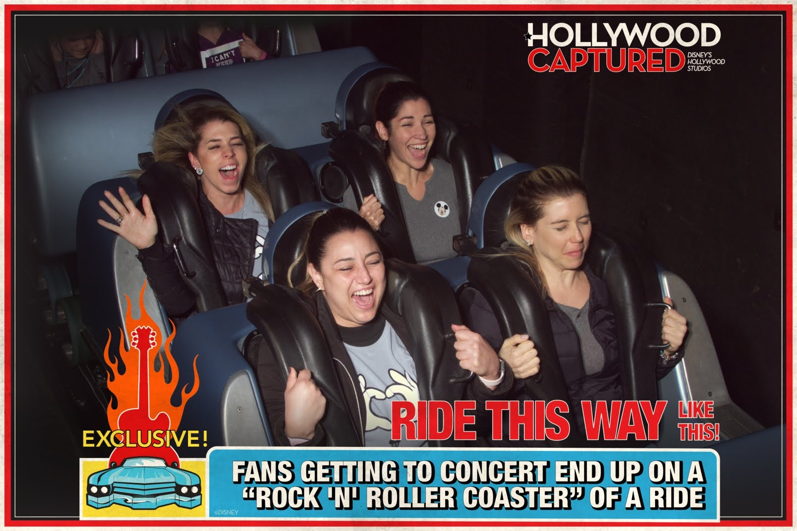 Rockin Roller Coaster at Disney's Hollywood Studios