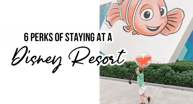 6 Perks of Staying At A Disney Resort