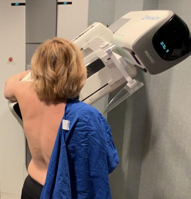 my first mammogram