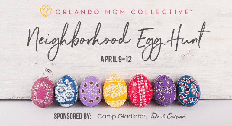 Orlando Mom Collective Neighborhood Egg Hunt