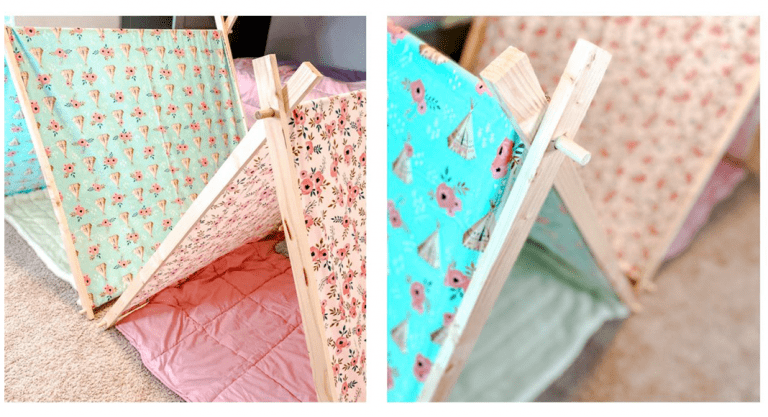 NO-SEW DIY: KIDS PLAY TENT