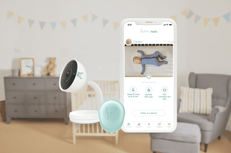 The Baby Monitor System All New Moms Need: Lumi by Pampers