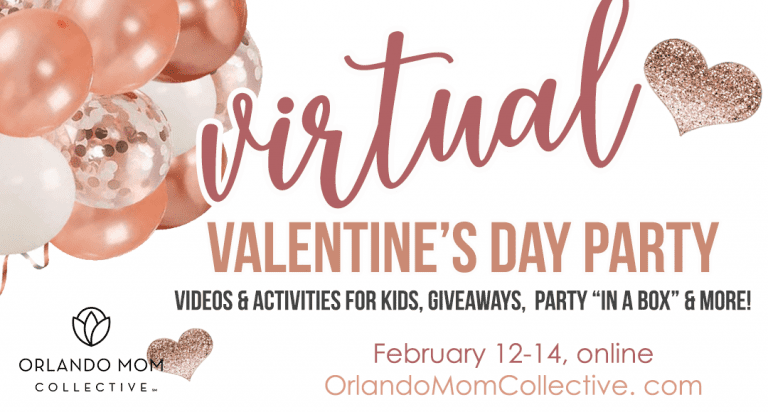 Join our Virtual Valentine's Day Party!