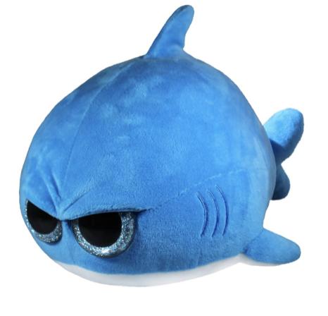 grumpy shark plushie